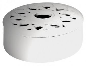 Luftbefeuchter Kamin Lienbacher RUND, weiß glänzend