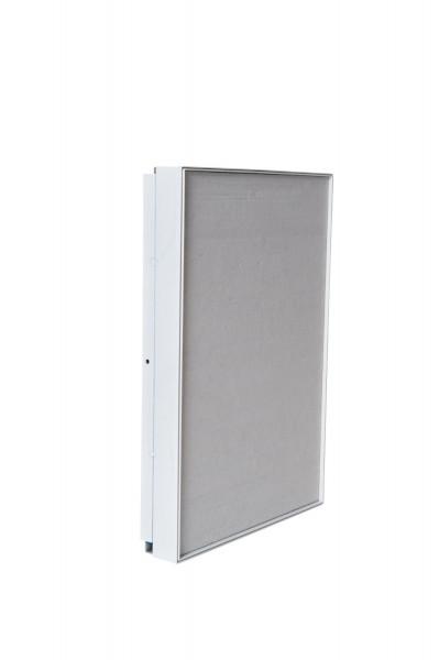 Revisionstür mit Schnappverschluss und Dämmplatte 30 x 45 cm weiß