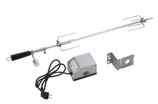 Grillspieß mit Elektromotor Länge 87,5 cm