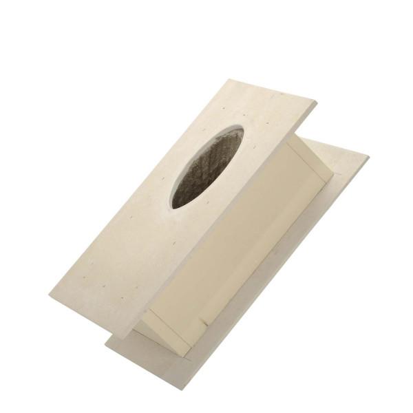 Brandschutz Dachdurchführung 45°, Wandstärke bis 120 mm