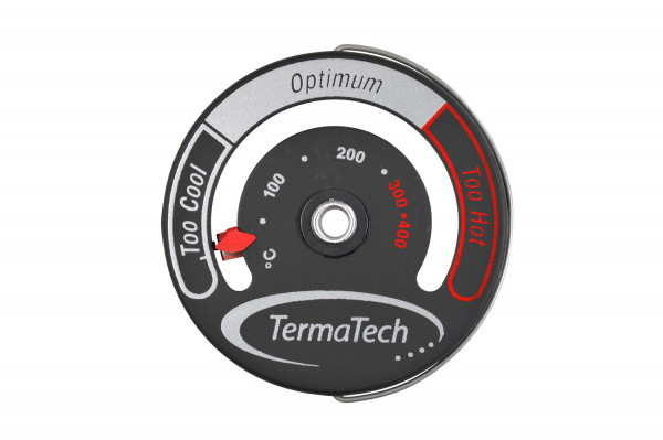 Rauchrohr Thermometer mit Magnet