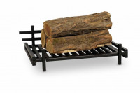 Feuerrost R209 schwarz Stahl, 52 x 31 x 16 cm - SM354050
