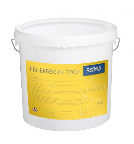 Feuerbeton 2200 0-0,5mm, 20 kg Eimer