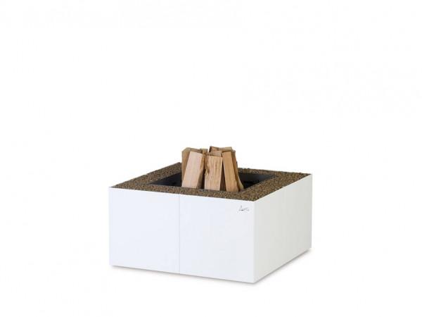 Feuerschale DADO weiß, 430 x 800 x 800 mm