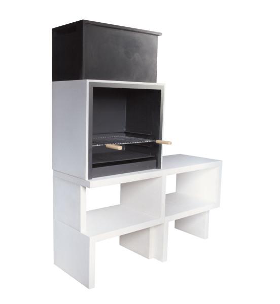 Grillkamin Blive LIV 03 mit Seitentisch
