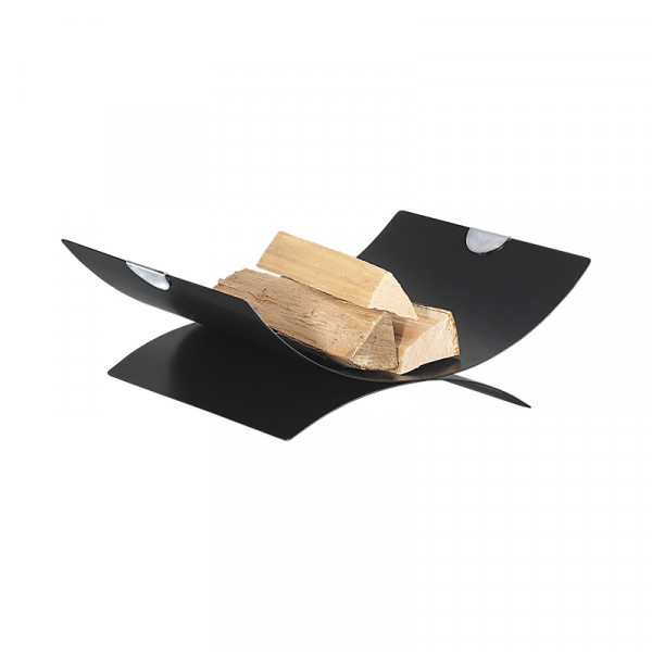 Holzliege RICO-3, schwarz