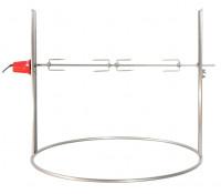 Ricon elektrischer Drehspieß für Feuerschale Edelstahl - SM020-2