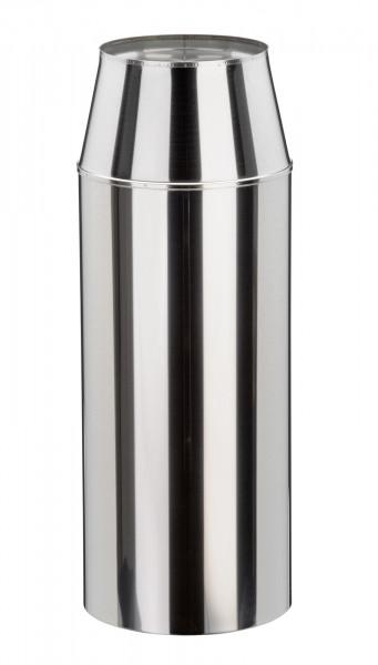 Mündungsabschluss 540 mm konisch Edelstahl doppelwandig - eka cosmos D 25