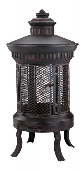 Terrassenofen zeus antikoptik bronze kaufen cafiro for Feuerkorb hornbach