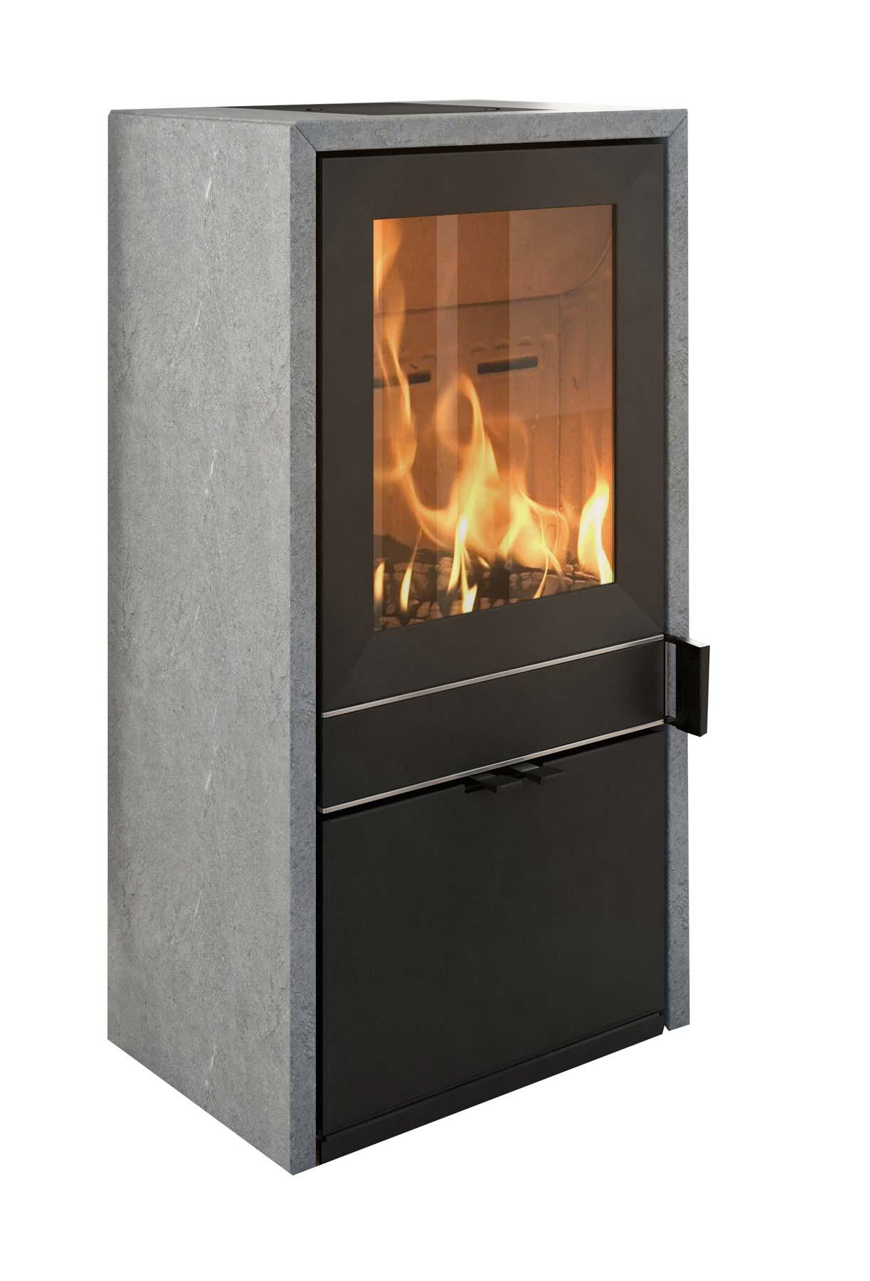 kaminofen termatech tt60s speckstein schwarz 6 kw kaufen cafiro. Black Bedroom Furniture Sets. Home Design Ideas