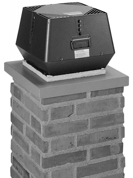 Rauchsauger Exodraft RSV 016 vertikal für feste Brennstoffe