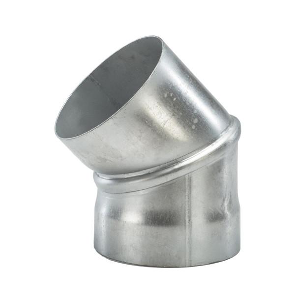 Rauchrohr Bogen 45° Aluminium