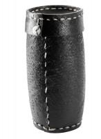 Aufbewahrungsbox für Kaminanzünder, Reifenmaterial, schwarz - SM98-262
