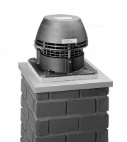 Rauchsauger Exodraft RS 014 horizontal für feste Brennstoffe - SMRS014