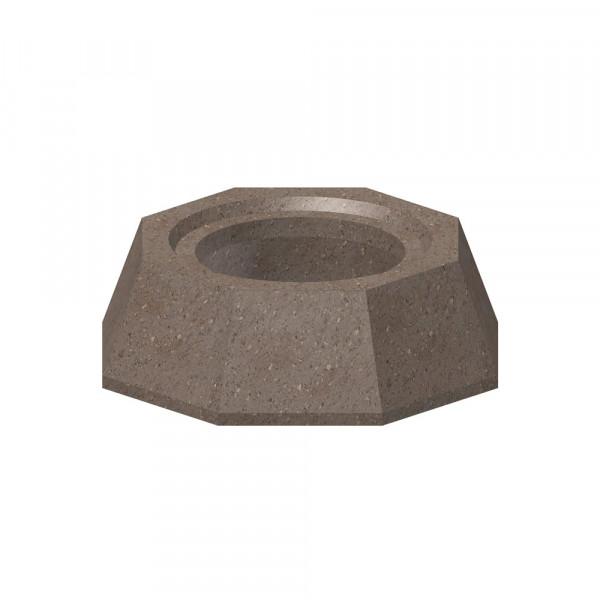 Keramik Modul Speicher 300-240 Übergang Adapter stehend, 300 x 300 x 100 mm