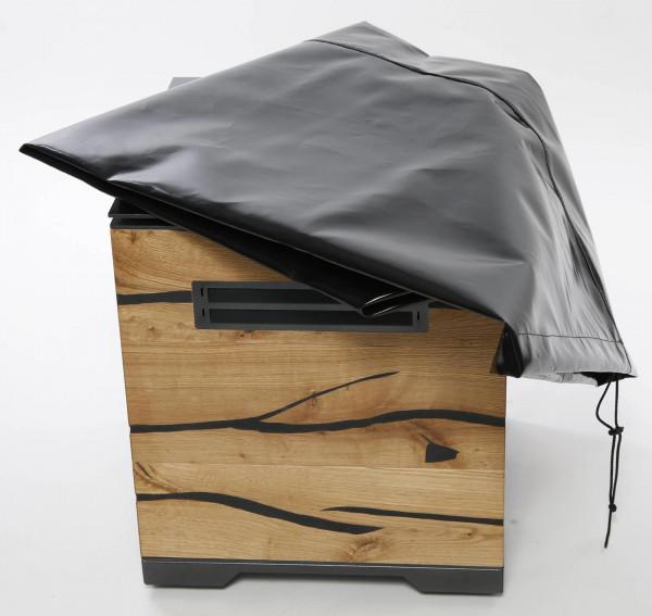 Wetterschutzhaube Pelmondo Feuertisch CUBE LARGE Abdeckplane XL