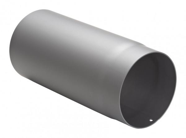 Rauchrohr Stahl 330 mm hellgrau