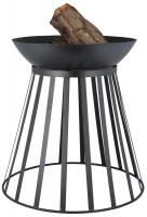 Feuerkorb Feuerschale Stahl, umdrehbar - SMFF253