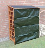Erweiterungselement Brennholzregal ROMA inkl. Wetterschutz - SM513070
