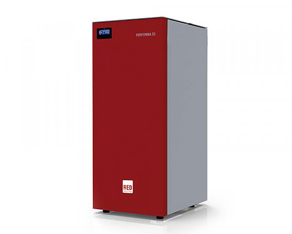 RED Pelletkessel PERFORMA 20 Easy Clean, 20 kW inkl. Hochleistungs-Zirkulator Set