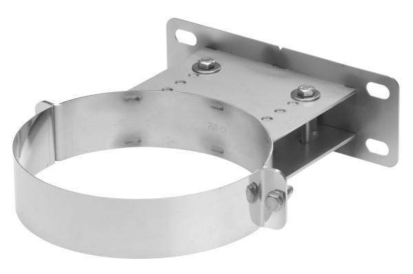 Wandhalter verstellbar 90-160 mm Edelstahl doppelwandig - eka complex D 25