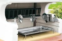 Grillspieß LUX mit Elektromotor 76 cm - SM893120020