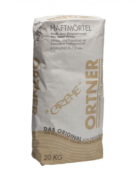 Haftmörtel creme 0-1,2 mm, 20 kg Sack