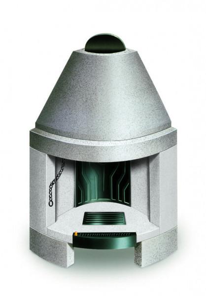 Feuerraum Bausatz Palazzetti B80, rund