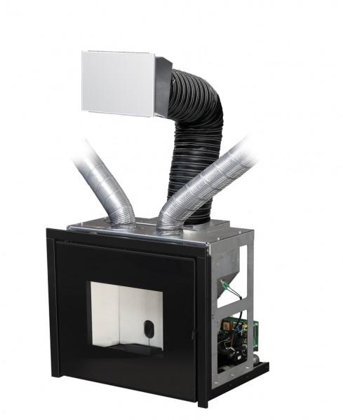 Pelleteinsatz MCZ VIVO 80 inkl. SLIM Comfort Air®, 10,5 kW