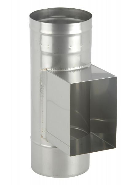 Prüföffnung mit Kasten 150 x 300 mm Edelstahl einwandig - eka complex E