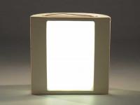 Keramische Lüftungsnische für Heizeinsätze mit LED-Beleuchtung - SMEkn2ll25