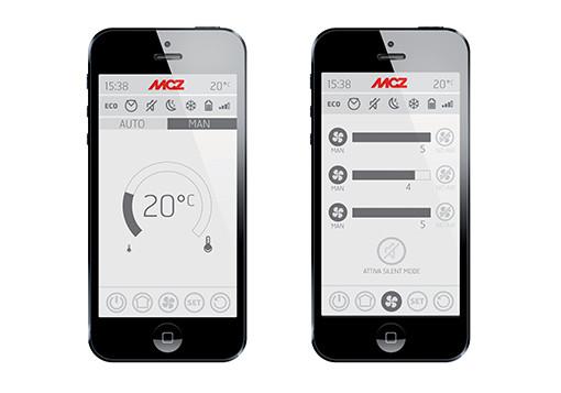 Fernbedienung Handheld MCZ inklusive App Maestro