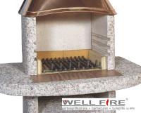 Feuerrost für Grillkamine, 43 x 36 cm - SM21041