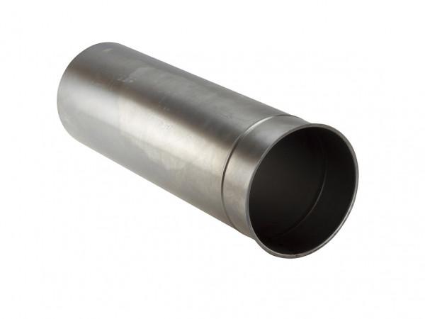 Wandfutter Rauchrohr Stahl einwandig 500 mm lang Ø 150 mm unlackiert