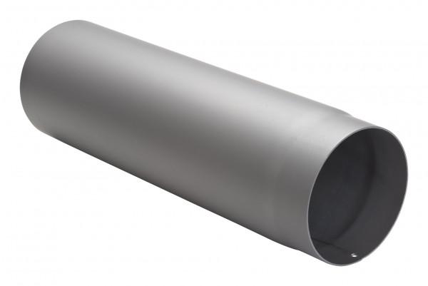 Rauchrohr Stahl 500 mm hellgrau