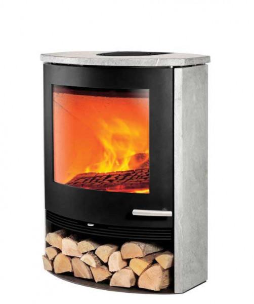 kaminofen termatech tt22s speckstein schwarz 7 5 kw kaufen cafiro. Black Bedroom Furniture Sets. Home Design Ideas