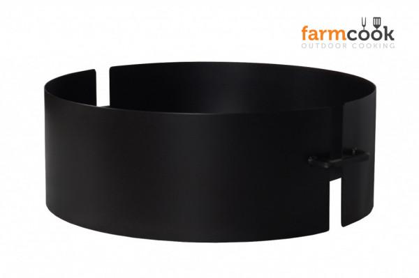 Feuerschale Stahl PAN 4 Farmcook, schwarz