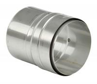 Adapter starr-flex Schornstein Flexrohr doppellagig - eka complex E Flex - SM2400080FASFDL