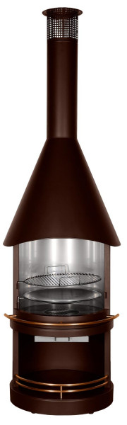 Grillkamin Edelstahl Firestar BROWN SUGAR CLASSIC 800