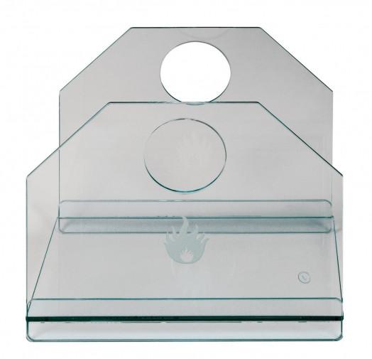 Holzkorb Lienbacher Glas