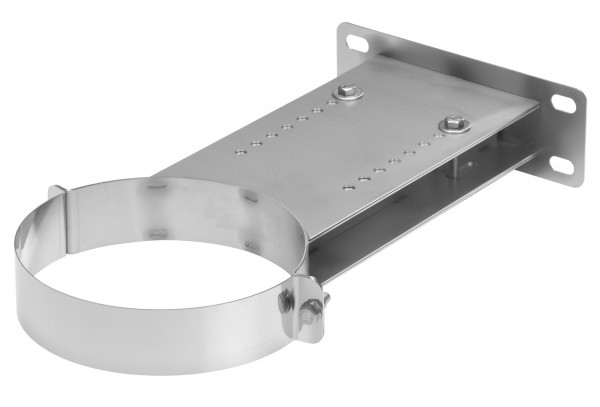 Wandhalter verstellbar 250-400 mm Edelstahl doppelwandig - eka chromos D 25