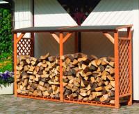 Erweiterungselement für Brennholzregal SPEYER - SM355-02