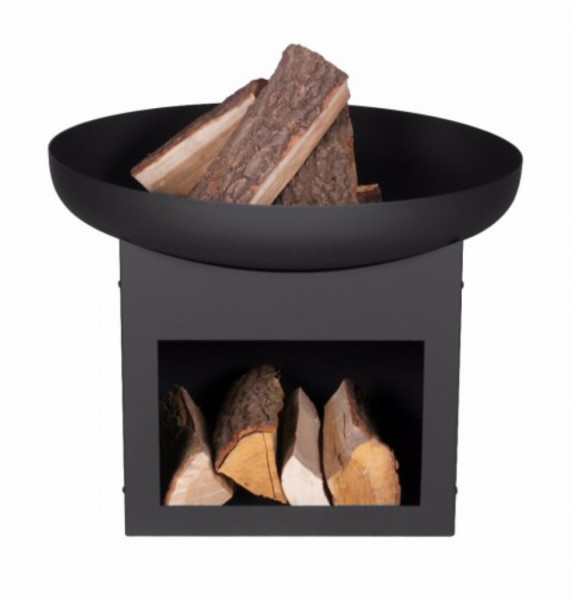 Feuerschale Stahl PAN 12 Farmcook, schwarz