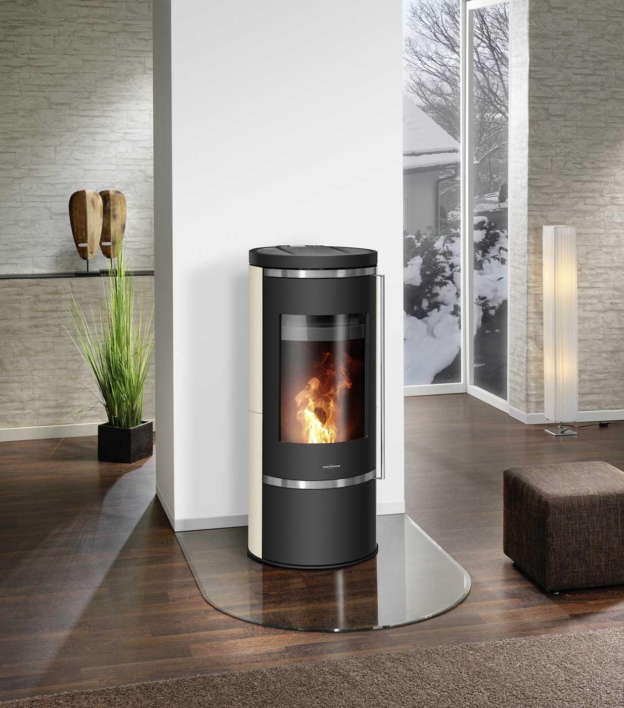 pelletofen oranier carus aqua ii 10 kw kaufen cafiro. Black Bedroom Furniture Sets. Home Design Ideas