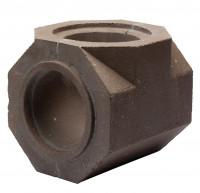 Keramik Modul Speicher 300 T-Stueck Abzweiger 300 x 300 x 300 mm, Ø 180 - SM1603004