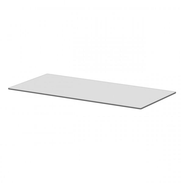 Vorlegeplatte ESG Klarglas Kaminofen BOX