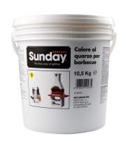 Grillkamin Putzfarbe 10 kg weiß - SM40180040