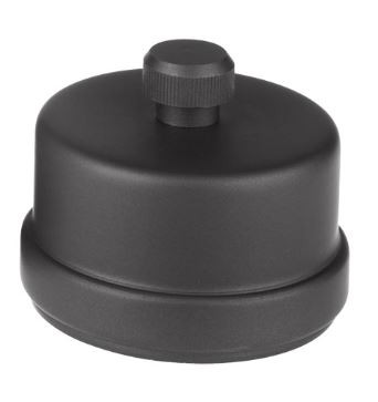 Kondensat-Ventil für Pellet-Ofenrohr schwarz