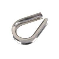 Drahtseil Kausche für 5 mm Seile, Edelstahl - SM9073