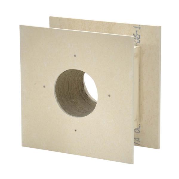 Brandschutz Deckendurchführung 0°, Wandstärke bis 120 mm